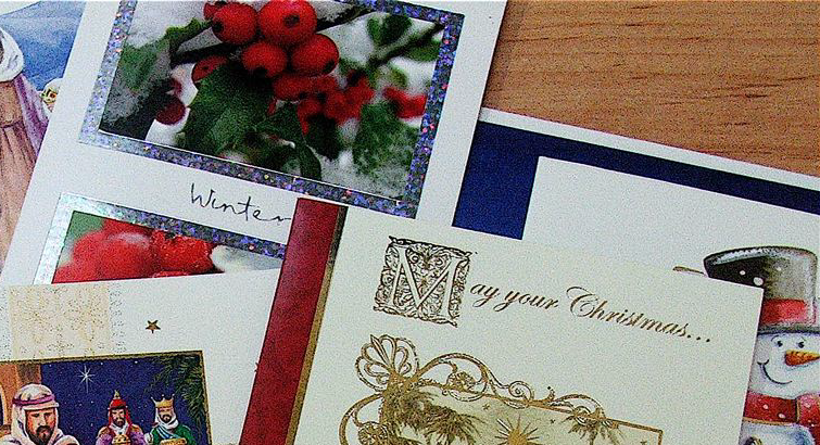 Holiday greetings of the past